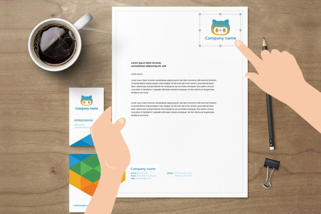 5 innovative ideas to invest in letterhead design tool brush your lettehead design tools spiritdancerdesigns Images